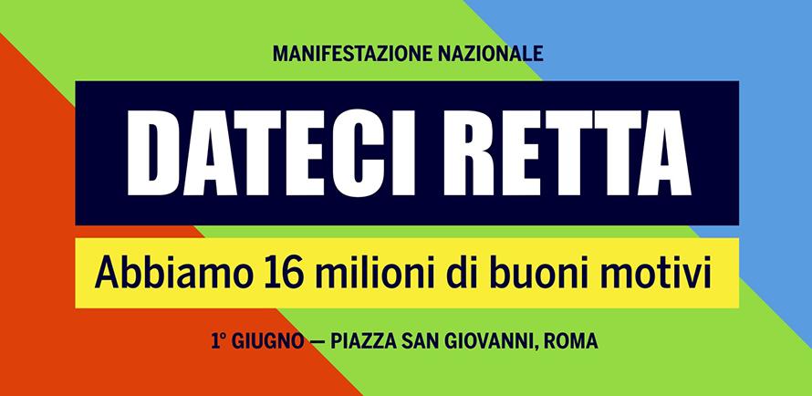 f204cd37da Al via mobilitazione dei pensionati, il 1 giugno manifestazione a Roma